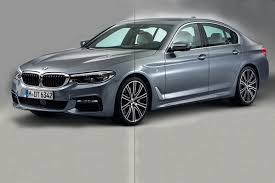 leaked images provide first glimpse at the all new 2018 bmw 5 series