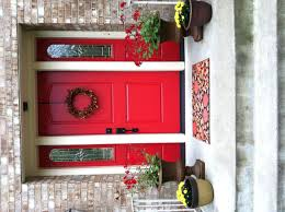 front doors red brick house front door color front door front