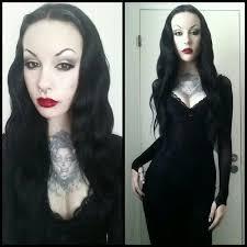 Morticia Addams Halloween Costumes 60 Murderotic Images Dark Fashion Alternative
