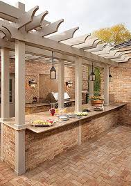 out door kitchen ideas 25 cool and practical outdoor kitchen ideas hative