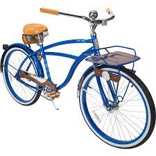 26 in huffy cape cod mens cruiser bike metallic blue 28914566245