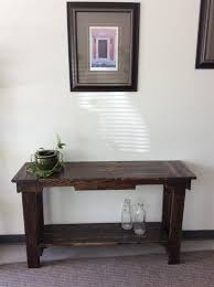 Hallway Table Reclaimed Wood Hallway Table