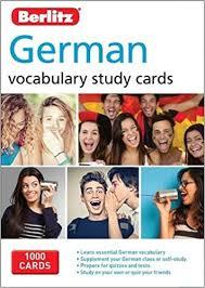 berlitz language german study cards berlitz vocabulary study