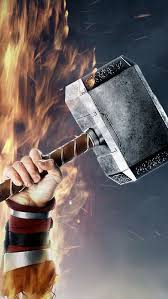 thor s hammer wallpaper free iphone wallpapers