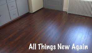 Laminate Flooring Over Linoleum Sneak Peek Diy Kitchen Renovation All Things New Again