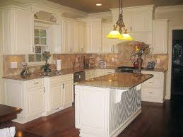 showroom del mar cream glaze kitchen cabinets low cost