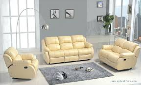 Yellow Leather Recliner Leather Sofa Modern White Leather Recliner Sofa Contemporary