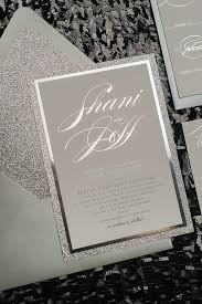 fancy invitations glitter wedding invitations affordable letterpress