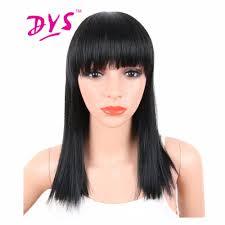 hairstyles with bangs medium length online get cheap medium length hairstyles aliexpress com
