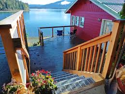 alaska house southeast alaska beachfront cottage vrbo