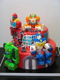 transformer rescue bots party supplies rescue bots cake and cupcakes by k noelle cakes cakes by k