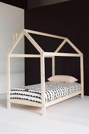wooden house kid bedframe scandinavian chic children u0027s rooms