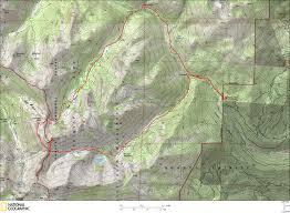 Mt Hood Trail Map Bear Basin Loop Trail Map Photos Diagrams U0026 Topos Summitpost