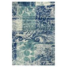 Green Area Rug Appealing Blue And Green Area Rugs Roselawnlutheran In Rug