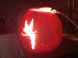 tinker bell pixie dust pumpkin carving 6 steps with pictures