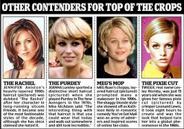 the angela forget rachel s layered bob or twiggy s pixie cut the