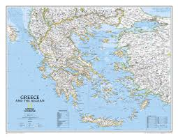 Blank Map Of Ancient Greece National Geographic Map Of Greece You Can See A Map Of Many