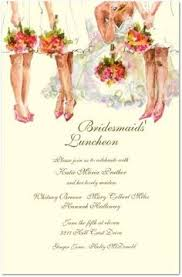 bridesmaid luncheon invitations bridal luncheon invitation by anotherinvitation on etsy 12 00