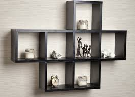 shelving intriguing wooden wall mounted display shelves
