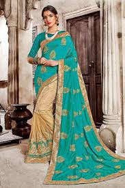 bangladesh saree traditional silk net fabric wholesale heavy embroidered saree