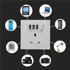 ls with usb outlets wall charger socket 3 usb port 2 1a end 4 13 2019 5 15 pm