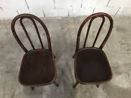 Vintage Bistro Chairs Vintage Bistro Chairs From Thonet Set Of 6 For Sale At Pamono