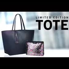 victoria secret black friday 2017 victoria u0027s secret limited edition vs black friday tote with mini
