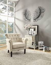 furniture white tufted grey tufted upholstered accent chairs for