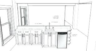 kitchen island plan standard kitchen island size kitchen design measurements and open in