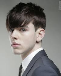 classic young men u0027s hairstyle with clean lines and the hair cut