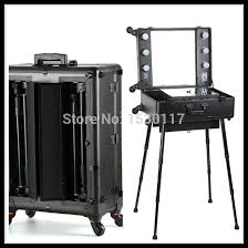 professional makeup light professional makeup trolley with lights aluminum makeup with