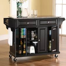 kitchen cart island granite top kitchen cart u2013 home design and decorating