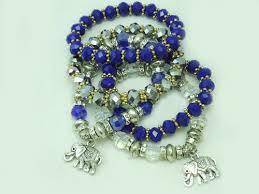 handmade bracelet with beads images Arya crystal beads charm bracelet hautecorals jpg