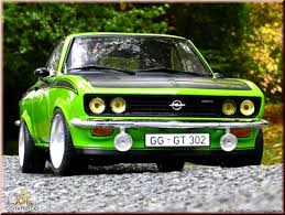 green opal car opel manta review and photos