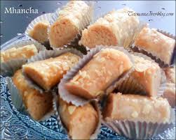 overblog cuisine marocaine mhancha aux amandes محنشة gâteau marocain cooking