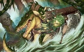 download wallpaper art jungle raft log free desktop wallpaper