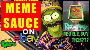 Meme Sauce - selling rick and morty szechuan sauce mcdonalds meme on ebay youtube