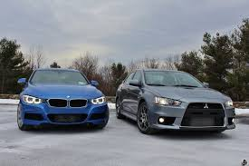 mitsubishi evo automatic bmw 335i xdrive vs mitsubishi evo mr review by limitedslipblog