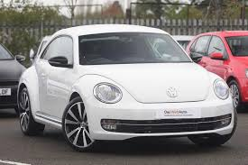 volkswagen bug 2016 white used volkswagen beetle white for sale motors co uk