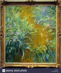 the monet family in their garden at argenteuil painting monet in met ny stock photos u0026 painting monet in met ny
