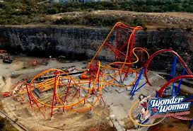 Six Flags Zoo Newsplusnotes Six Flags Fiesta Texas Shares Aerial Footage Of