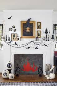 How To Decorate Your House For Fall - 35 fall mantel decorating ideas halloween mantel decorations
