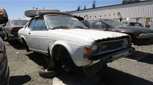 mitsubishi colt 1970 1976 dodge colt junkyard find