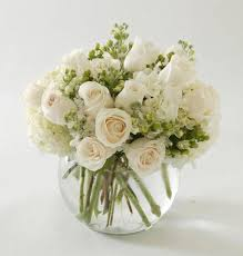 white floral arrangements tranquility bouquet nanz kraft florists louisville kentucky