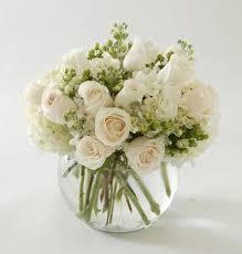 white flower arrangements tranquility bouquet nanz kraft florists louisville kentucky