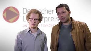 Rs Bad Iburg Lehrerpreis 2015 Preisträger Patrick Hehmann Mit Niklas Oberhoff