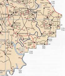 Alabama City Map Cemeteries Of Western Jefferson County Alabama