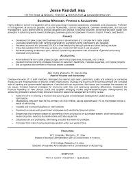 Sample Resume For Accounts Receivable by Example Finance And Accounting Resume Free Sample