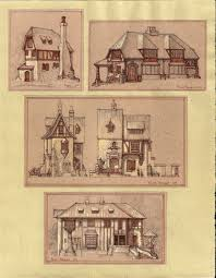 whimsical house plans medieval houses by built4ever deviantart com architecture
