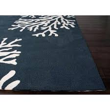 Outdoor Rug 5x7 New Blue Coral Outdoor Rug Navy Blue Coral Outdoor Patio Rugs